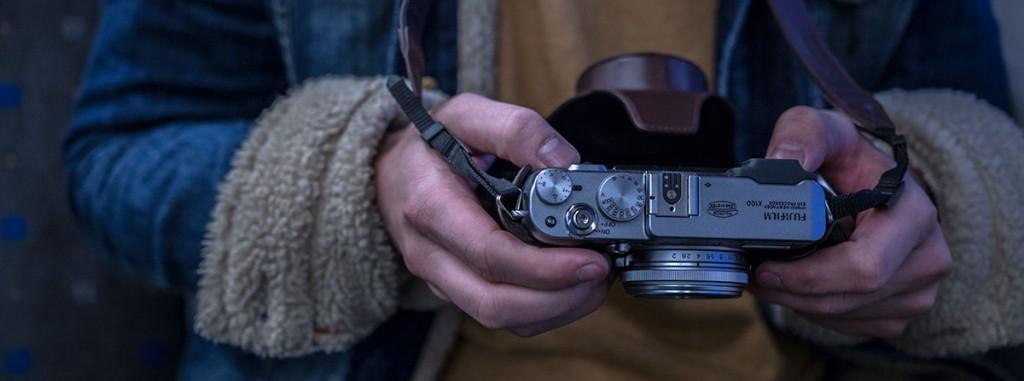 Gammeldags kamera